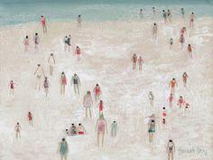 Hannah|Hann : Beach Scene