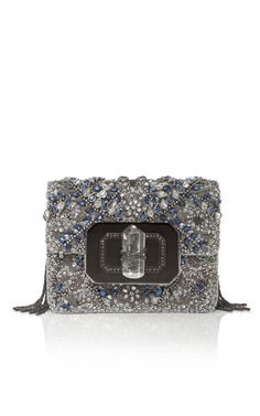 Shop Marchesa Small Phoebe Shoulder Bag With Embroidery at Moda Operandi