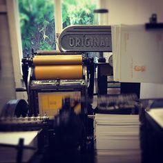 letter pressing