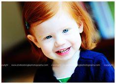 red hair. red-headed children.