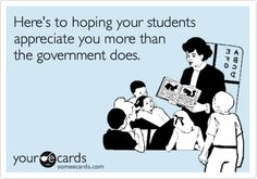 For all the teachers out there!
