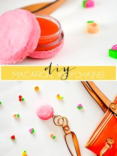 DIY Macaron Keychain with Lip Balm Compartment