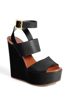 The ultimate wedge sandal by Chloé
