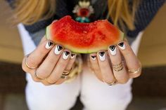 watermelon  rings -  makeup,  #Tattoos