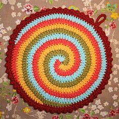"""Pot """"Twist"""" - Pattern"""