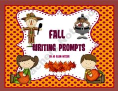 FALL WRITING PROMPTS and PAPERS product from The-First-Grade-Reader on TeachersNotebook.com