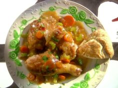 Chicken and Biscuits Recipe : Melissa d'Arabian : Food Network - FoodNetwork.com