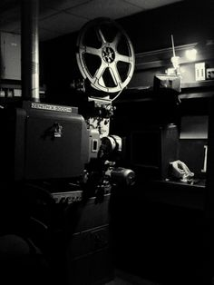 35mm Film Projector for watching original cuts