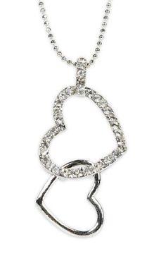 Deb Shops #heart #necklace