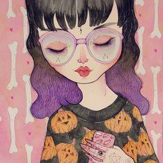 """Pumpkin"" Art Print by LOll3 on Society6."
