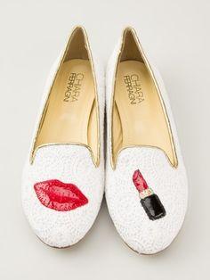 Chiara Ferragni Lipstick Loafers - Cumini - Farfetch.com
