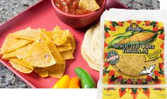 Sprouted Corn Tortilla Chips | Food For Life - RECIPE to make your own, organic, GMO free.
