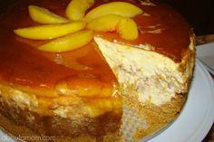 Fresh Peach Cheesecake Recipe