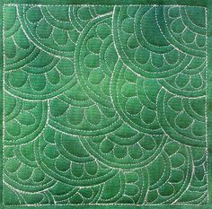 the Free Motion Quilting Project: Daisy Echo