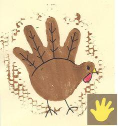 Art Projects for Kids: Turkey Monoprint