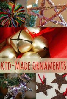 Homemade Ornaments Kids Can Make - Kids Activities Blog