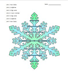 Free winter writing templates. PLUS how to incorporate technology into writing.
