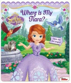 JJ FAVORITE CHARACTERS SOFIA. On each page readers can lift the flap as Sofia searches for her lost tiara.