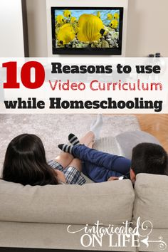 Check out these 10 reasons for why you should be using video curriculum in your homeschool! @ IntoxicatedOnLife.com #Homeschool #Curriculum