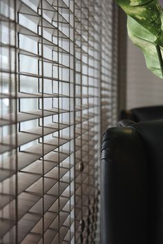 Close Up Shot Of Faux Wood Blinds -- Curated by: EuroTek Blind Factory | 203 - 171 commercial drive, Kelowna, BC, v1x 7w2 | 250-765-0222 #customblinds #window #shades #curtain