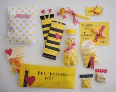 Bee themed gift package-would be a fun new beehive gift!