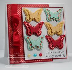 Butterfly galleries, card idea, greet card, butterfli card, card butterfli, treasur, butterfli craft, card trend, scrapbook
