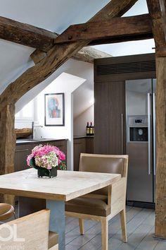 Privé | Appartements | | Appartement Rue du Bac Hélène et Olivier Lempereur olivi lempereur, neutral space, aprè chic, appart rue, small kitchen