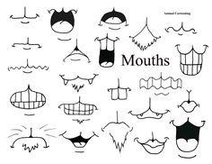 animal cartoons mix and match mouths