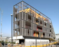 60 Dwellings Appartment Block for Fira 2000 / ONL Arquitectura