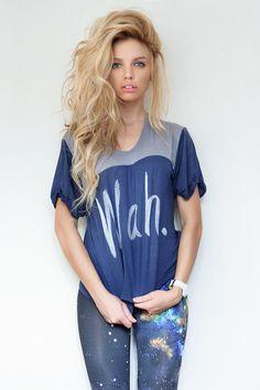 Shirt and hair