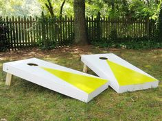 Most Pinned of 2013 From DIY Network's Pinterest Boards: Originally from How to Build a Regulation Cornhole Game     From DIYnetwork.com
