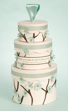 How-to: wedding cake wish box