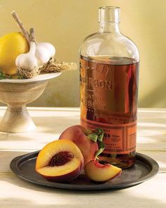 Peach & Bourbon Barbecue Sauce.....