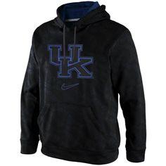 Nike Kentucky Wildcats Black Out KO Performance Hoodie - Black