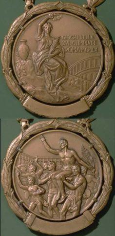 1960 Rome Olympics medal