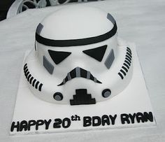 Starwars  #cake #fondant #birthday #white