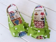 Anabelle Baby Sandals Sewing PDF Pattern