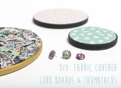 DIY: Fabric Covered