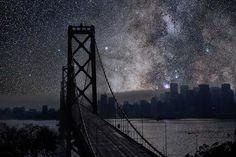 night skies, amaz place, night sky, san francisco
