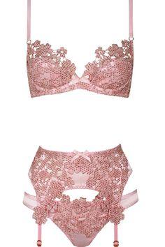 Guipure lace lingerie by Agent Provocateur