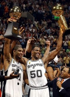 Tim Duncan David Robinson San Antonio Spurs