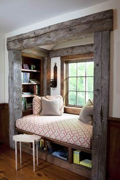 Guest rooms in teeny tiny spaces...