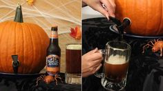 I want to see a pumpkin keg at every Halloween party this month. Seriously, it's the most festive, tastiest way to spice up the alcohol. Here's how to make one.