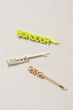 Ban.do bobby pins