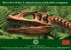 Oklahoma Museum Of Natural History Coupon