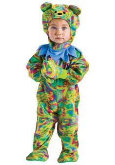 Best baby costume ever. Grateful Dead Dancing Bear!