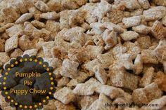 Pumpkin Pie Puppy Chow   This Sweet Life