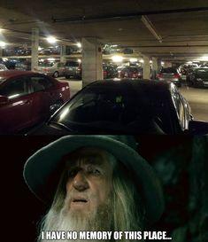HAHA! I always get lost!