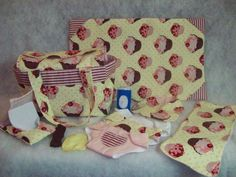 Fits Baby Alive Doll 15 piece Set/ Diaper by TeenyTinyTailorShop, $46.99
