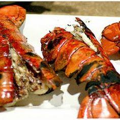 ... food, tail recip, lobster tail, lobsters, summer night, grill lobster
